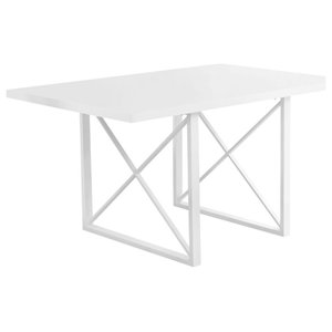 Monarch Dining Table In Dark Taupe And Black Transitional Dining Tables By Homesquare