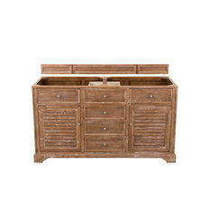 "Savannah 60"" Driftwood Double Vanity"