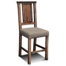 Rustic Dining Chairs by Crafters and Weavers