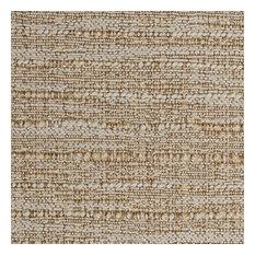 Deluxe Roman Shades Plain Fold, 30Wx36H Captiva Sandlewood