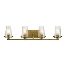 Marvelous Kichler   Kichler Alton Bathroom Light, Natural Brass   Bathroom Vanity  Lighting