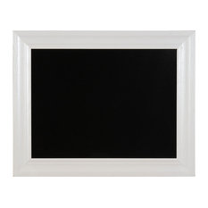 """24""""x30"""" Chalkboard with White Frame"""