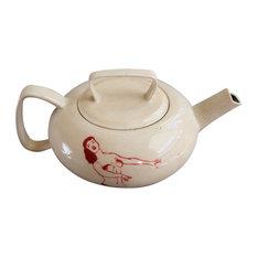 Dancing Girlie Teapot
