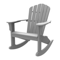 Harbor View Rocker, Gray