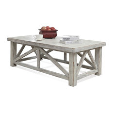 riverside furniture cocktail table white coffee tables