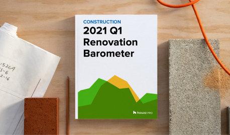 2021Q1 Houzz Renovation Barometer - Construction Sector