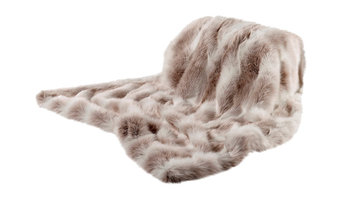 Alpendorf Long-Haired Faux Fur Throw, 140x180 Cm