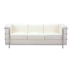 Zuo Modern Contemporary - Fortress Sofa White - Sofas
