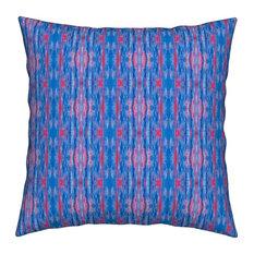 World Explorer Collection Pillow, Blue