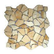 "12""x12"" Sandstone Mosaic Tile"