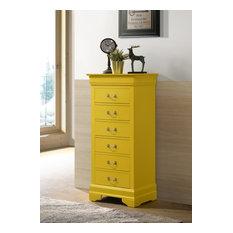 Louis Phillipe Lingerie Chest Yellow