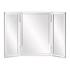 Modern Howard Elliott Tripoli Trifold Vanity Mirror Home Decor