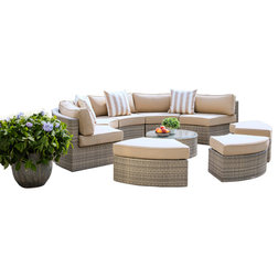 Tropical Outdoor Lounge Sets by Madbury Road