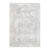 nuLOOM Vintage Odell Traditional Transitional Area Rug, Ivory, 12'x15'