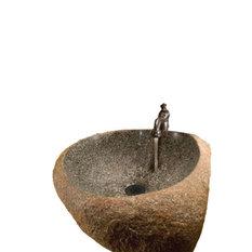 Bella Toscana   Natural Boulder Basin   Bathroom Sinks