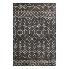 Bashian Avalon Area Rug, Charcoal, 5'x7.6'
