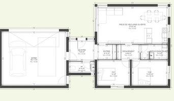 projet 2 chambres avec garage pour un couple sans enfant