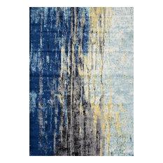 """Nuloom Katharina Rug, Blue, 2'7""""x8', 7'10""""x10'10"""""""