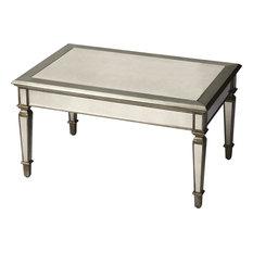 Butler Butler Celeste Mirrored Cocktail Table Coffee Tables