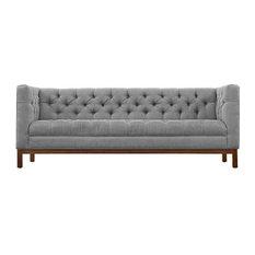 Kenneth Upholstered Fabric Sofa/Expectation Grey