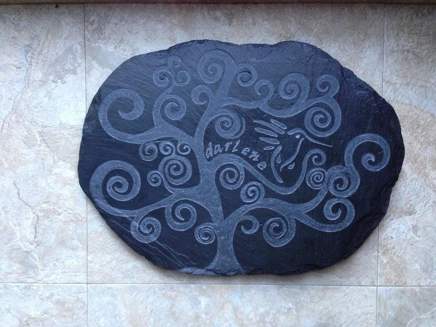 Memorial Garden paver stone
