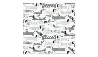 Wiener Dogs, Gray, Roll