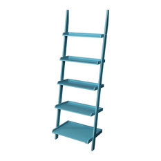 American Heritage Bookshelf Ladder, Blue