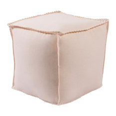 Evelyn Cube Pouf