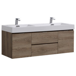 Contemporary Bathroom Vanities And Sink Consoles by KubeBath LLC
