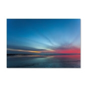 'Blue Hour' Canvas Art by Chris Moyer