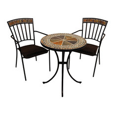 EXCLUSIVE GARDEN   Clandon Bistro Table With Kingswood Chairs, 3 Piece Set    Indoor