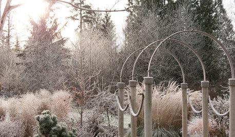 Gute Aussichten: Blickfänge im winterlichen Garten