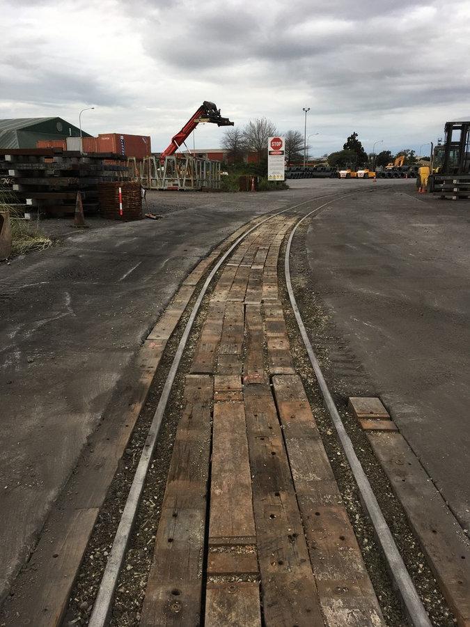 Hardwoods ex NZ rail network