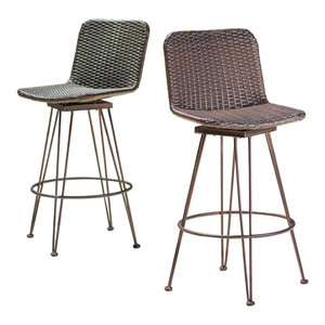Compamia Air Counter Stools Set Of 2 Contemporary