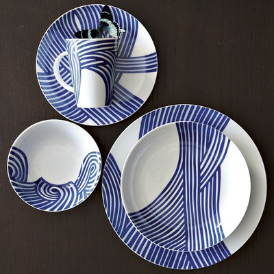 Contemporary Dinnerware by West Elm