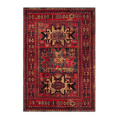 Safavieh Vintage Hamadan Rug, Red/Multi, 4'x6'