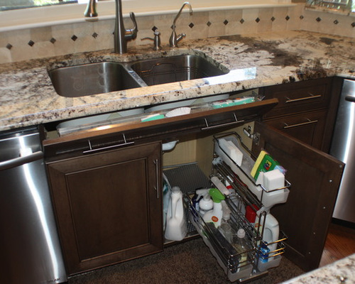 Under Kitchen Sink Cabinet cabinet for kitchen sink. beautiful naturally lit kitchen features