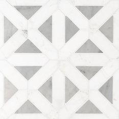 Bianco Dolomite Geometrica Pol, Polished, Marble, by DaVinci Design Group