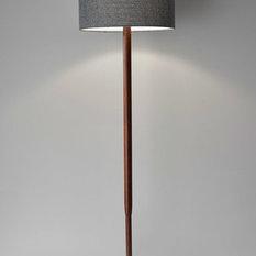 Floor lamp ideas houzz adesso ellis 1 light floor lamps walnut wood grain floor lamps aloadofball Image collections