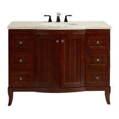Zinc Bathroom Sinks zinc counter bathroom vanities | houzz