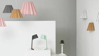 Cardboard lights
