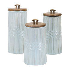 Tia Canisters, 3-Piece Set