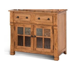 Sunny Designs Buffet Only Rustic Oak By GuildMaster ...