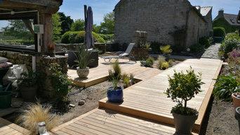 Création d'une terrasse à Carnac