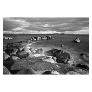 "Pixtury ""Calma Piatta"" Photo Print, Canvas, 40x60 cm"