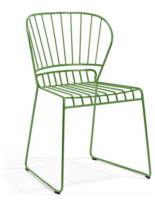 Resö Stol, Ljusgrön - Spisebordsstole