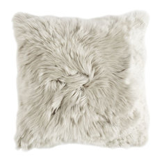 Alpaca Pillow, Light Grey