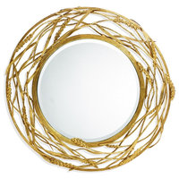 Michael Aram 411658 Transitional Wheat Hanging Wall Mirror
