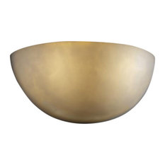 Clouds Small Quarter Sphere Wall Sconce, No Metal