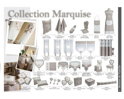 Linge de maison Alizea - Collection Marquise